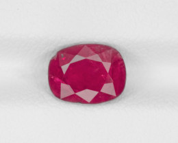 Ruby, 1.93ct - Mined in Burma | Certified by IGI