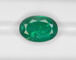 Emerald, 13.58ct - Mined in Zambia | Certified by IGI