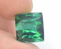 Top Grade 7.50 ct Greenish Color Tourmaline