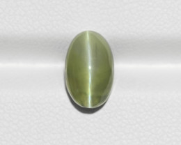 Chrysoberyl Cat's Eye, 3.89ct - Mined in India | Certified by IGI