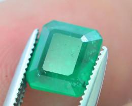 Top Color 1.60 ct Zambian Emerald