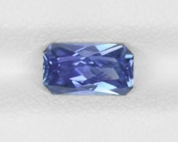 Blue Sapphire, 1.27ct - Mined in Sri Lanka | Certified by GRS
