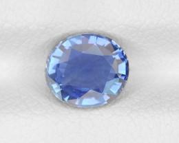 Blue Sapphire, 1.28ct - Mined in Burma | Certified by IGI