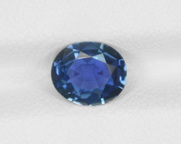 Blue Sapphire, 1.24ct - Mined in Sri Lanka | Certified by IGI