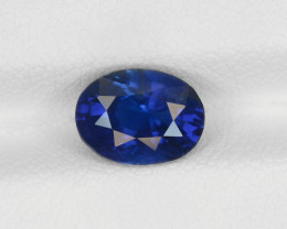 Blue Sapphire, 2.04ct - Mined in Sri Lanka | Certified by GIA & IGI