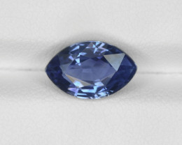 Blue Sapphire, 3.37ct - Mined in Madagascar | Certified by GRS