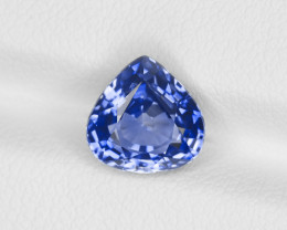 Blue Sapphire, 3.07ct - Mined in Sri Lanka | Certified by GRS