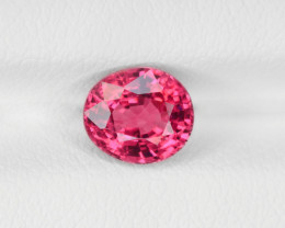 Spinel, 1.34ct - Mined in Burma | Certified by IGI