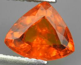 1.65 Cts Unheated Natural Orange Spessartite Garnet Namibia Gem