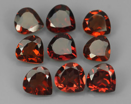 7.05 CTS~EXQUISITE NATURAL UNHEATED ORANGE RED COLOR RHODOLITE GARNET!!