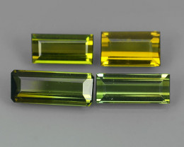 2.90 CTS OCTAGON CUT 100%NATURAL GREEN MOZAMBIQUE TOURMALINE GEM