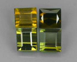 3.40 CTS AWESOME NATURAL OCAGON GREEN TOURMALINE GEM!!