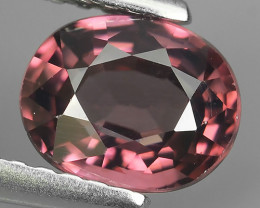 1.45 CTS~TOP LUSTROUS NATURAL CAMBODIA OVAL~PINK ZIRCON!!