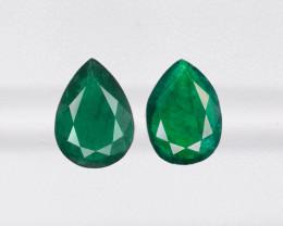 Pair of Emeralds, 5.26ct