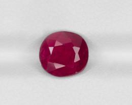 Ruby, 2.12ct - Mined in Burma | Certified by IGI