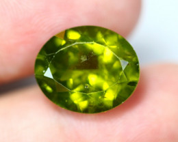 8.41cts Natural Apple Green Colour Peridot / YY06
