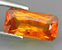 2.25 Cts~Natural Shocking Fanta Orange Spessartite Garnet Namibia, Amazing~