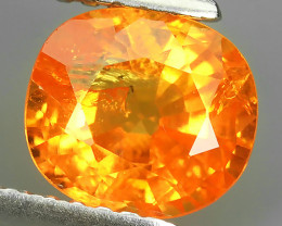 1.85 CTS EXQUISITE NATURAL UNHEATED FANTA COLOR OVAL SPESSARTITE