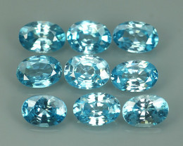 8.30 CtS AWESOME SPARKLE NATURAL  BLUE ZIRCON PARCEL