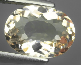 1.90 CTS BEUTIFUL-TOP EXCELLENT NATURAL SUPER-OVAL-MORGANITE BRAZIL