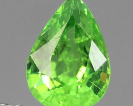 BEAUTY NATURAL ELECTRIC GREEN TSAVORITE GARNET NR!!!