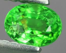 !!!DAZZLING RARE NATURAL EARTH MINED TOP GREEN GARNET TSAVORITE