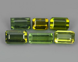 3.90 CTS TOP AMAZING NATURAL RARE LUSTROUS GREEN TOURMALINE