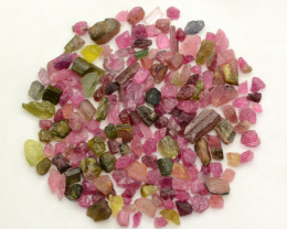 150 Ct Multi Color Tourmaline From Madagascar