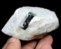 657 Ct Bio Tourmaline With Feldsper Specimen From Pakistan