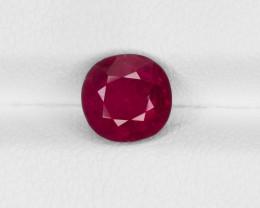 Ruby, 1.88ct - Mined in Burma | Certified by IGI