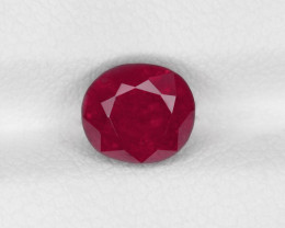 Ruby, 1.98ct - Mined in Burma | Certified by IGI