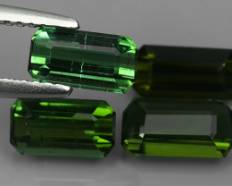 3.70 CTS~EXCELLENT NATURAL NICE GREEN TOURMALINE OCTAGON~ NR!!