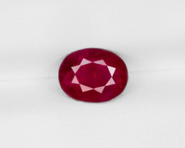 Ruby, 1.69ct - Mined in Burma | Certified by IGI