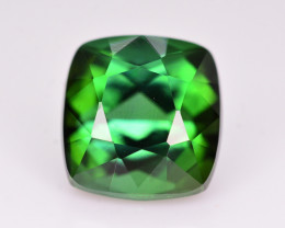 Brilliant Color 4.45 Ct Natural Lagoon Green Tourmaline