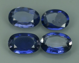 3.55 CTS GENUINE NATURAL ULTRA RARE LUSTER IOLITE OVAL NR!!!