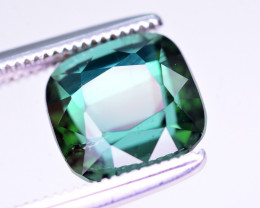 Top Color 2.95 Ct Natural Greenish Blue Tourmaline