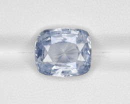 Blue Sapphire, 6.46ct - Mined in Kashmir | Certified by GIA & IGI