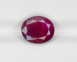 Ruby, 4.53ct - Mined in Burma | Certified by GRS