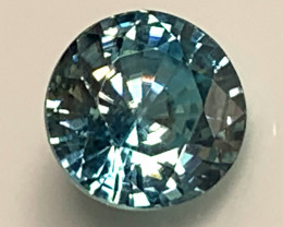 2.41ct Turquoise Green Blue Zircon No reserve auction