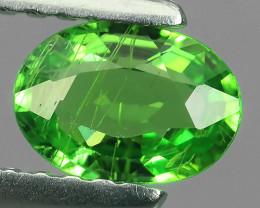 NATURAL EARTH MINED RARE HUGE GREEN TSAVORITE GARNET NR!!!
