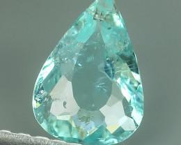 Exciting pear Natural Blue ParibaTourmaline-Extreme Quali