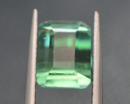 2.85 Ct Green Spodumene Gemstone From Afghanistan ~G A