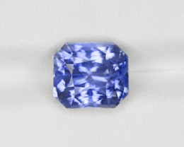 Blue Sapphire, 5.21ct - Mined in Sri Lanka | Certified by GRS
