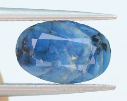 0.90 Ct Blue Color Natural Afghanite Gemstone T