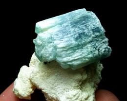 Amazing lovely natural color Damage free Tourmaline  specimen 165Cts-Afghan