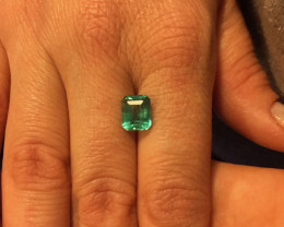 2,45ct Colombian Emerald Ref 42/76
