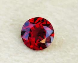 1.65 Carats Natural Rhodolite Garnet Round Cut Gem Stone from Tanzania