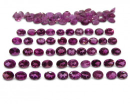 15.75 ct Pink Tourmaline Oval Wholesale Lot