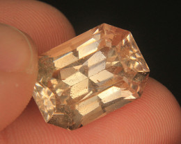 Wow Very Beautiful Cut Golden Brazilian Topaz in Fancy Cut