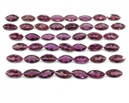 14.12 ct Pink Tourmaline Marquise Wholesale Lot